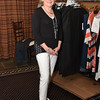 Fashion show model and Women's Club of Exeter member, JoAnn Dowling.