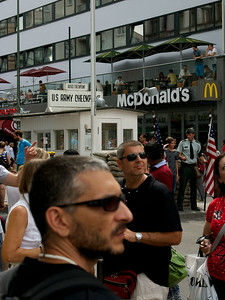 Berlin 2014 Checkpoint Charlie and McD