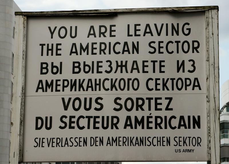 Berlin 2014 Sign
