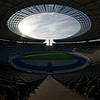 Olympiastadion Berlin, view from top of Ostkurve
