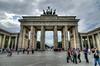The Brandenburg Gate, shot 11c July, 2012.