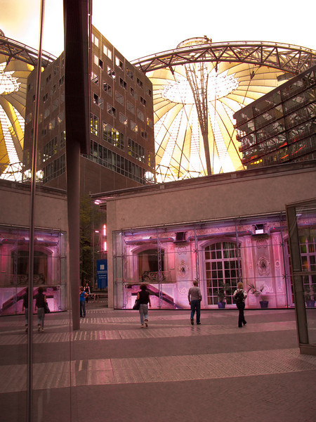 Potsdamer Platz and Sony Center -  Berlin