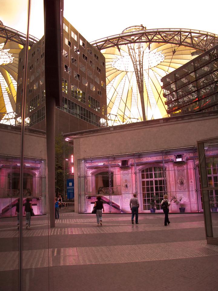 Potsdamer Platz and Sony Center -  Berlin