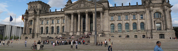 The Reichstag building in Berlin was constructed to house the Reichstag, the first parliament of the German Empire. It was opened in 1894 and housed the Reichstag until 1933, when it was severely damaged in a fire supposedly set by Dutch communist Marinus van der Lubbe, who was later beheaded for the crime. That verdict has been a subject of controversy over the years.[1] The National Socialist German Workers Party used this event as casus belli to begin a purge of traitors in Berlin and to ban the Communist Party of Germany.