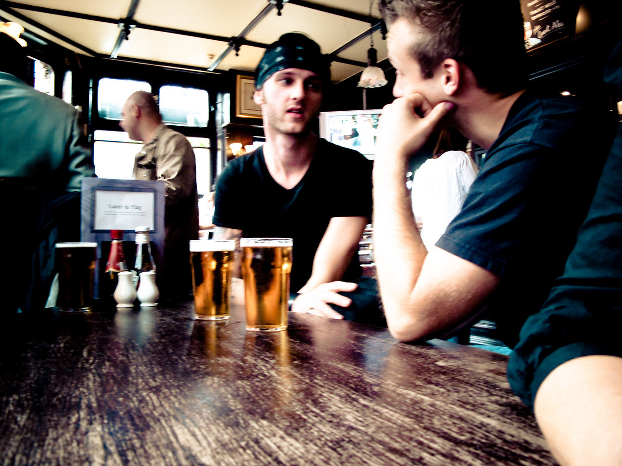 Germans in a Pub - London