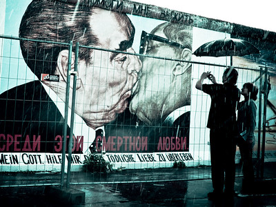 The Kiss on the Berlin Wall