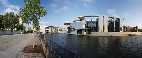 9476x3876, Berlin, German Bundestag, Reichstagufer, Marie-E.-Lüders Haus