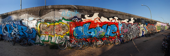 18661x6140, The Wall, Berlin
