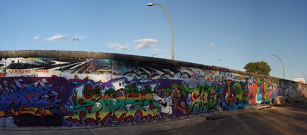 8045x3537, Berlin wall, graffiti