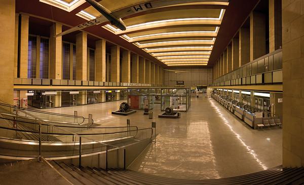 10228x6199, Zentralflughafen Tempelhof, Airport, Berlin, Empfangshalle