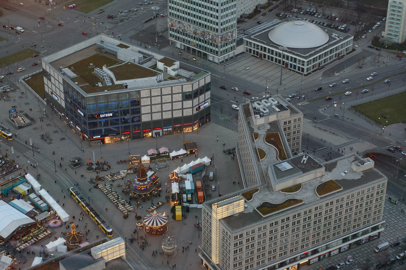 Alexanderplatz, Berlin, from the TV Tower