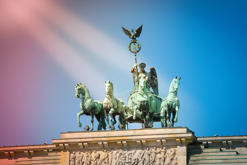 Quadriga at the Brandenburg Gate.