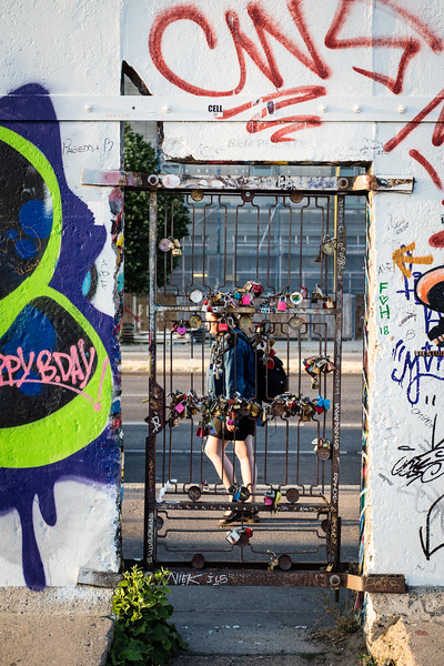 Padlock Gate | East Side Gallery | Berlin