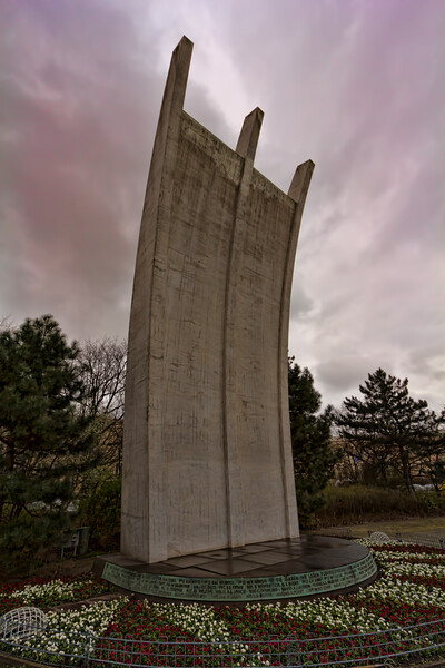 Berlin Airlift Memorial, Berlin, Germany
