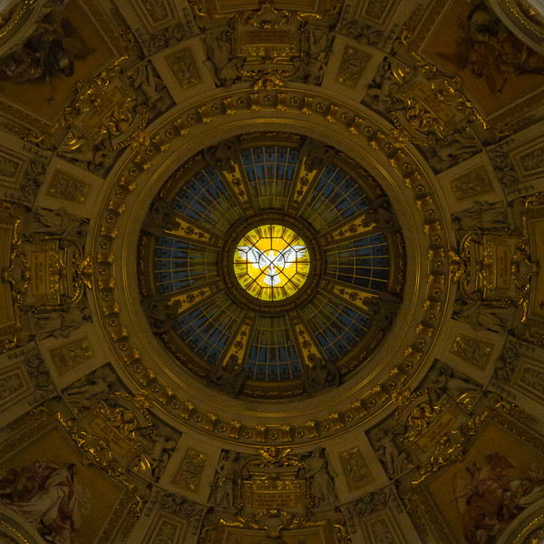 Berlin Cathedral Church Ceiling, Germany