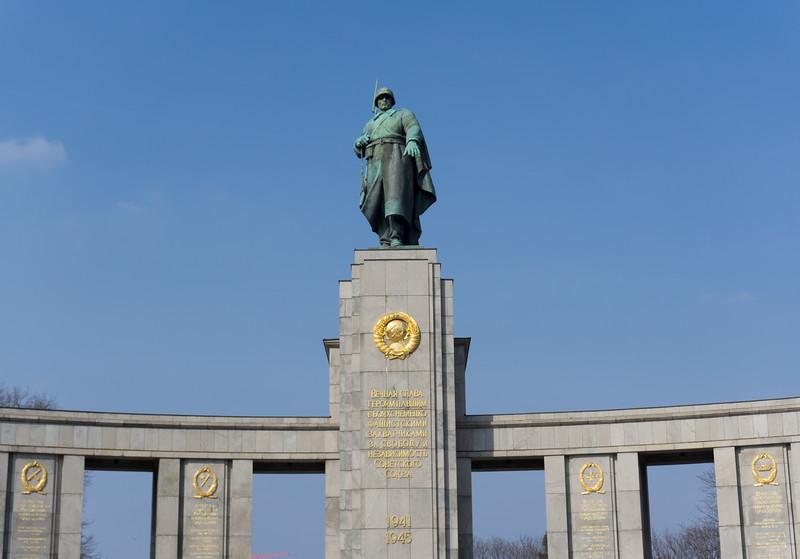 Tiegarten Soviet War Memorial, Berlin, Germany
