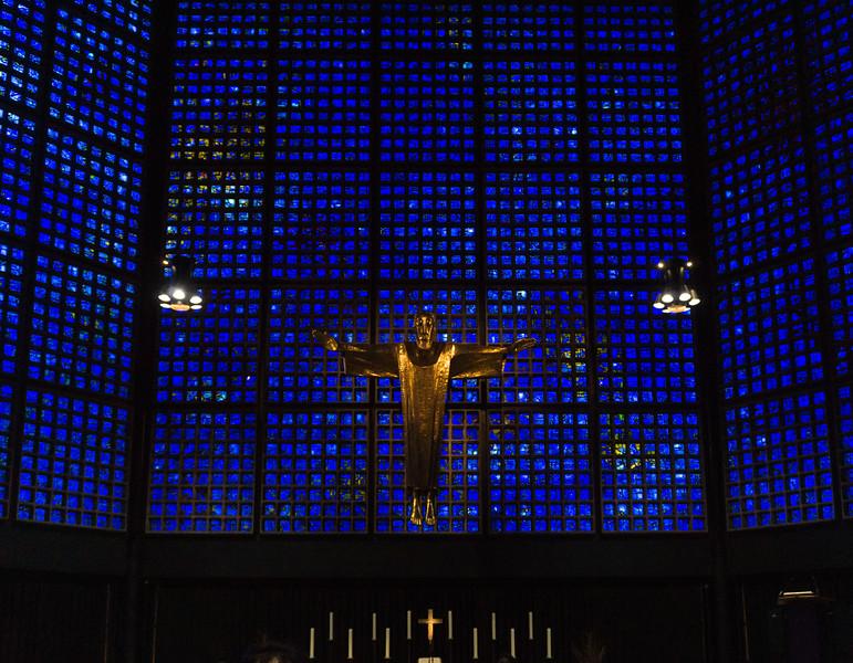 Gedächtniskirche  Kaiser Wilhelm Church, Berlin, Germanhy