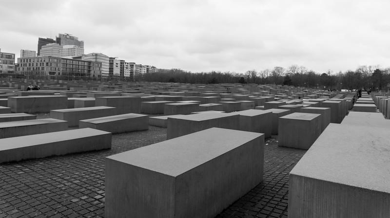 The Murdered Jews of Europe Memorial, Berlin, Germany