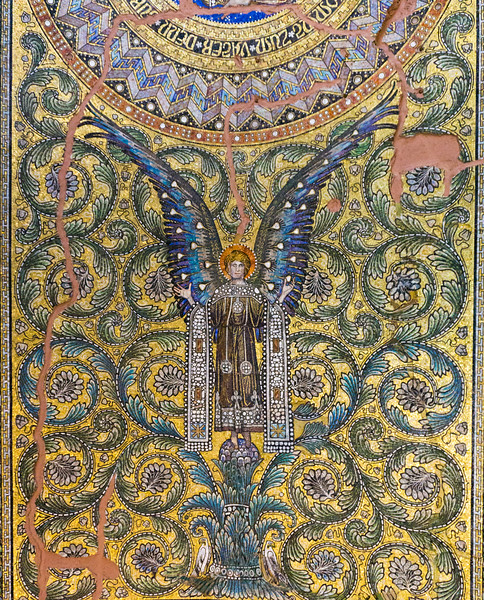 Gedächtniskirche  Kaiser Wilhelm Church Mosaic, Berlin, Germanhy
