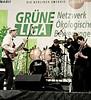Band, Brandenburger Tor, Berlin, Germany