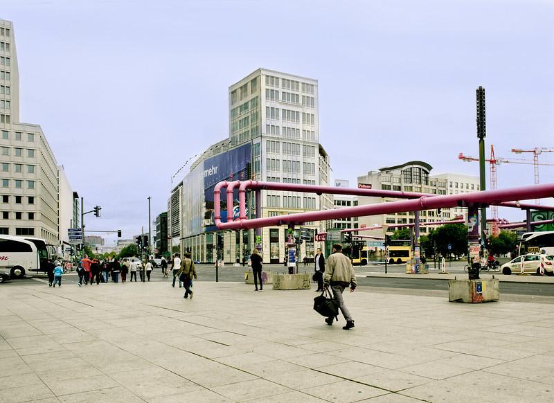 Pipes, I, Potsdamerplatz, Berlin, Germany