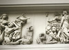 Frieze (Battle of the Titans), Pergamon Museum, Berlin, Germany