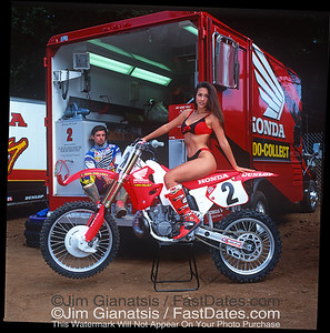 Jeremy McGrath and LeAnn Tweeden