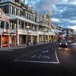 Front street at dawn