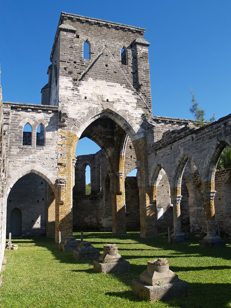 Unfinished Church interior