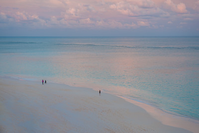 Unmistakably Coral Beach during  magic hour pre sunset