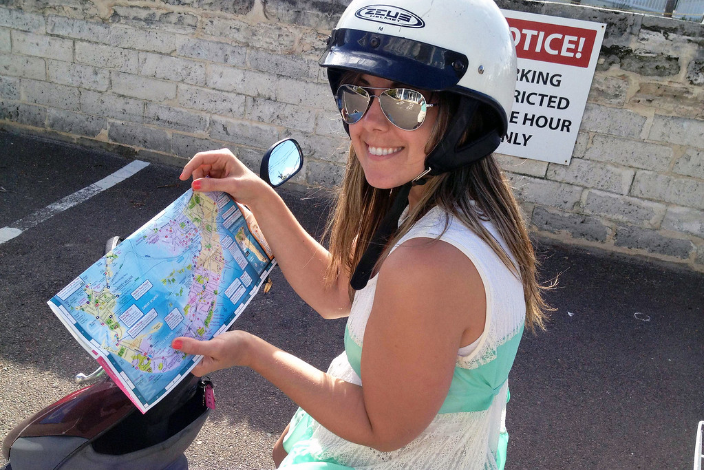 Renting Scooters in Bermuda - 3 days in Bermuda Itinerary