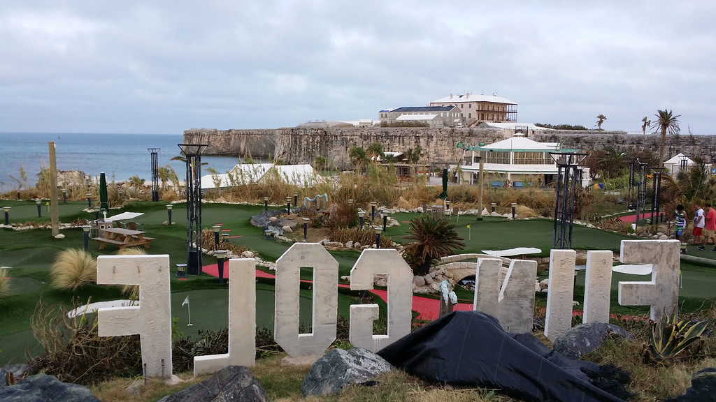 Putt putt course in Bermuda