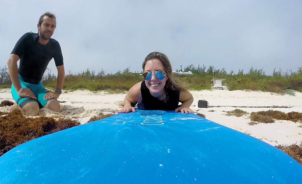 Surfing in Bermuda - Learning with Isolated Surfboards