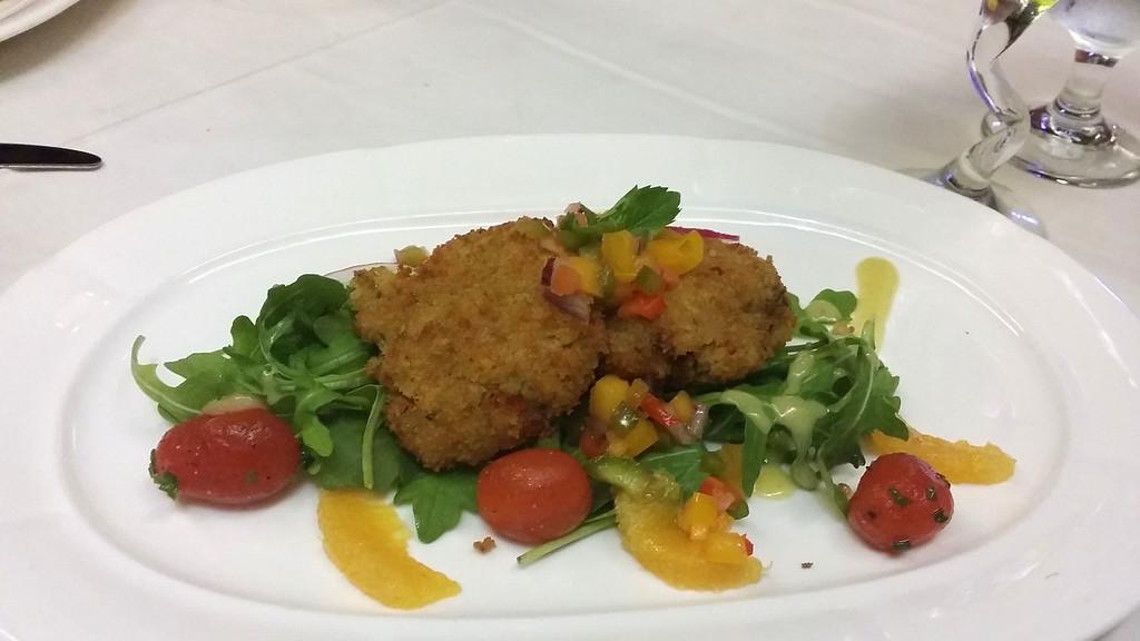 Red Steakhouse and Bar Bermuda Vegan Meal