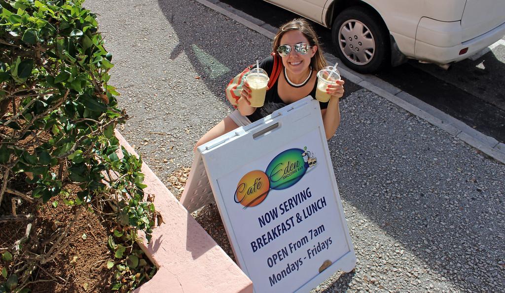 Vegan Bermuda: Cafe Eden