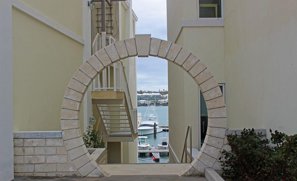 Moongate in Bermuda