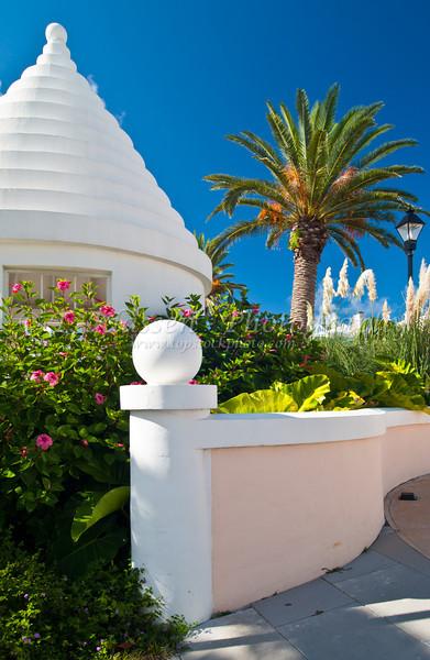 Office and condo development in Hamilton, Bermuda in the British Overseas Territory.