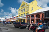 Activites on Front street in Hamilton, Bermuda, British Overseas Territory.