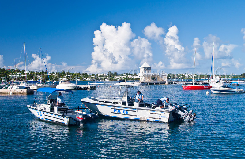 The marina in Hamilton, Bermuda in the British Overseas Territory.