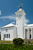 The City Hall and Arts center buildings in Hamilton, Bermuda, British Overseas Territory.