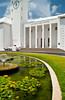 The City Hall and Arts center buildings in Hamilton, Bermuda, British Overseas Territory.