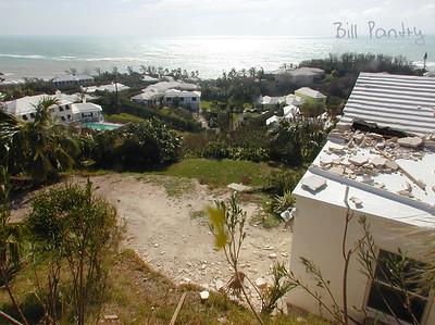 Sept., 2003. Hurricane Fabian, Bermuda.