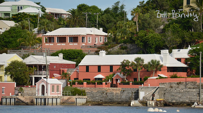 View of Paget from Hamilton Harbour, Paget, Bermuda
