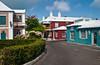 The town of St. George's, Bermuda, British Overseas Territory.