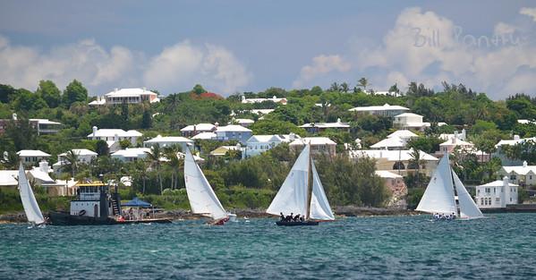 Dinghy races in Granaway Deep, Warwick, Bermuda