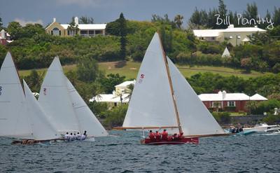 Challenger, Victory & Elizabeth, Dinghy races in Granaway Deep, Warwick, Bermuda