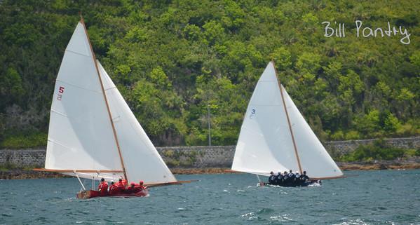 Elizabeth & Contest, Dinghy races in Granaway Deep, Warwick, Bermuda