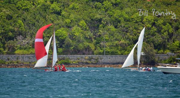 Elizabeth & Victory, Dinghy races in Granaway Deep, Warwick, Bermuda