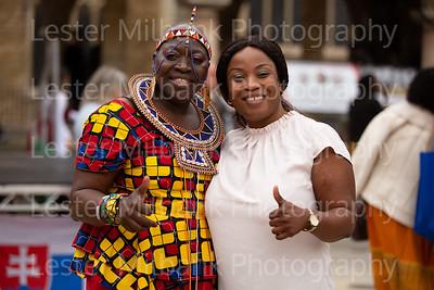 Black History Month Bernadette, Mayor, Stalls & public