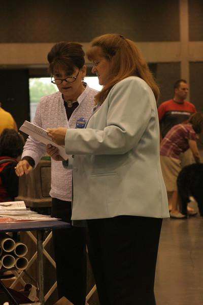 Sharon Johnson Judge & Lori Jodar ring steward